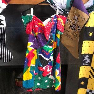 Vintage Honey Bee Warhol Retro Party Dress pinup